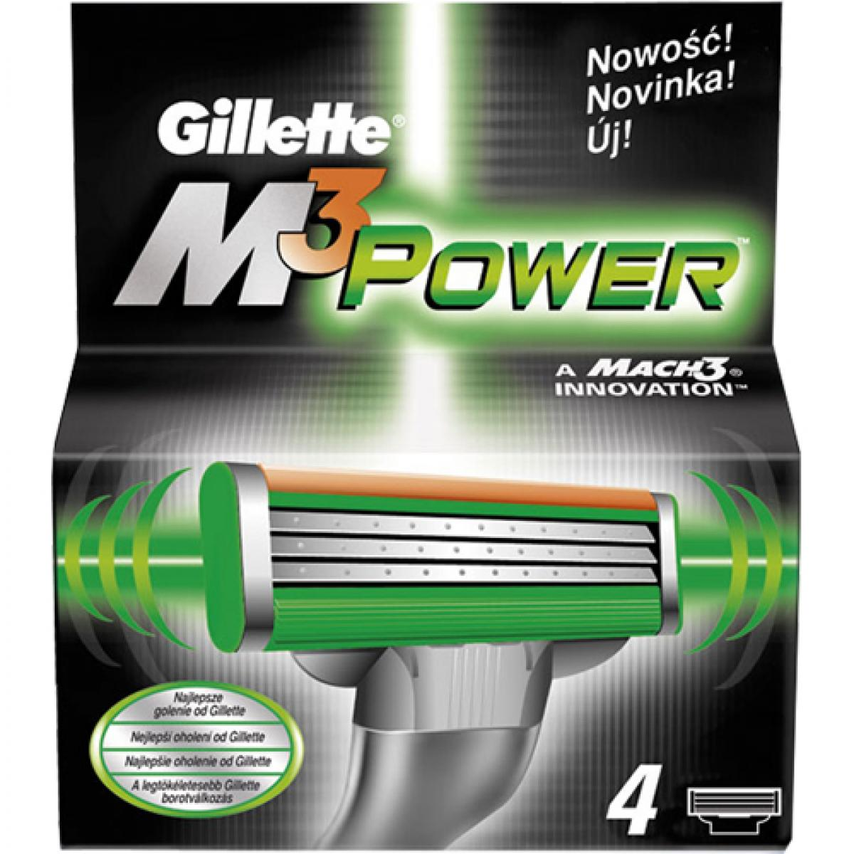 Парфюми Gillette Mach 3 Power резерва 4бр.