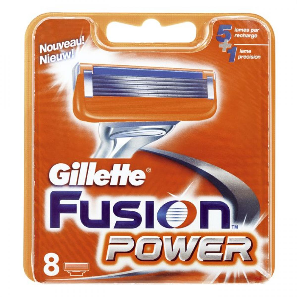 Парфюми Gillette Fusion Power резерва 8бр.